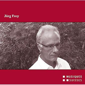 Frey / Mondrian Ensemble / Konus Quartett - Juerg Frey [CD] USA import