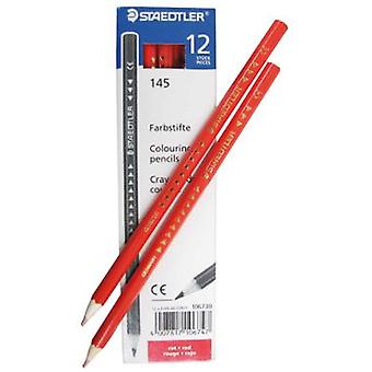 Staedtler 12 Lápices Color Rojo (Toys , School Zone , Drawing And Color)