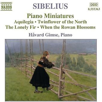 J. Sibelius - Sibelius: Klavier-Miniaturen [CD] USA import