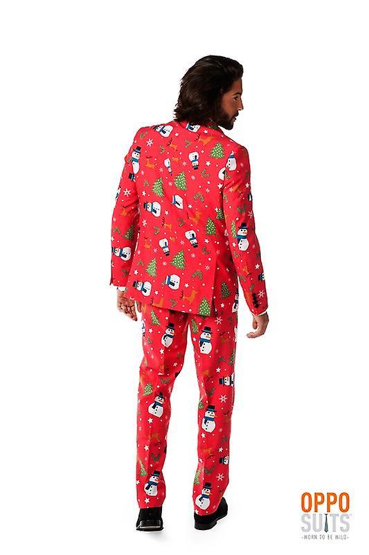 7cfb0ca9a5e72 Opposuit chrześcijańska wzorca Boże Narodzenie Boże Narodzenie garnitur  slimline rozmiary Premium 3-częściowy