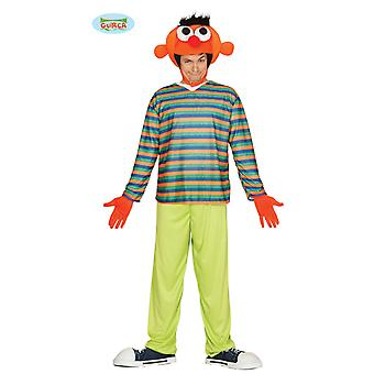 Orange man costume Orange doll for adult one size