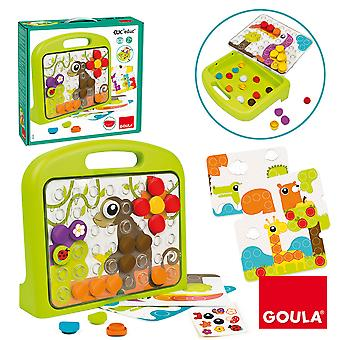 Goula Clic Edu Animales Maletín 48 Piezas  (Toys , Preschool , Puzzles And Blocs)