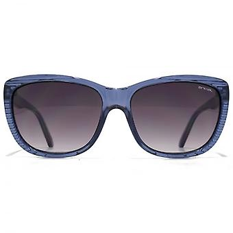 Animal Pop Butterfly Plastic Sunglasses In Crystal Blue
