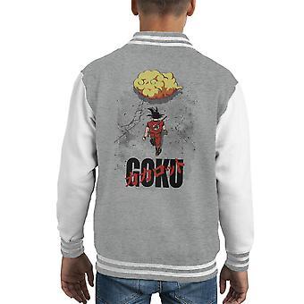 Varsity Jacket Dragon Ball Z Goku Akira Mashup capretto