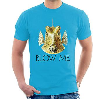 Blow Me Longhorn Cowfish Men's T-Shirt