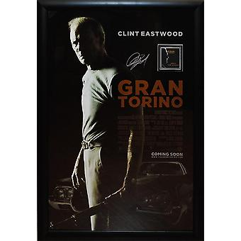 Gran Torino - Signed Movie Poster