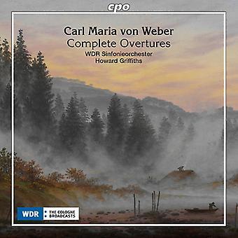 Weber / Koeln / Griffiths - Maria Von Weber: Complete Overtures [CD] USA import