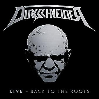 Dirkschneider - Live - Back to the Roots [CD] USA import