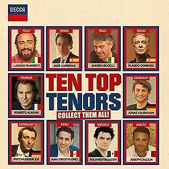 Ten Top Tenors - Ten Top Tenors [CD] USA import