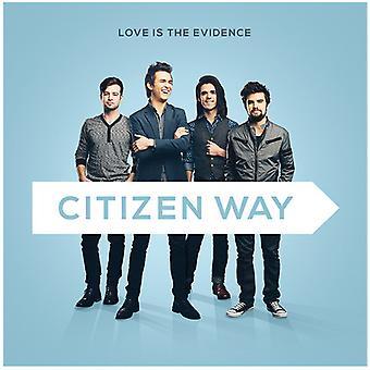 Borger måde - kærlighed er beviser [CD] USA importen