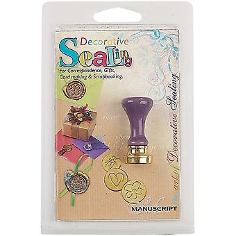 Manuscript Manuscript Decorative Sealing Handle