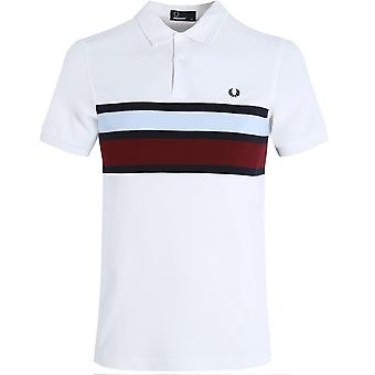 Panel de Fred Perry Stripe Polo Shirt