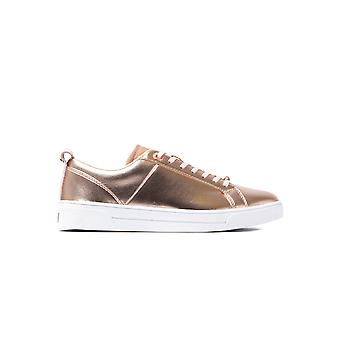 Women's Kulei Metallic Trainers - Rose Gold