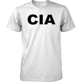 Slogan CIA – Centralna Agencja Wywiadowcza - koszulki męskie