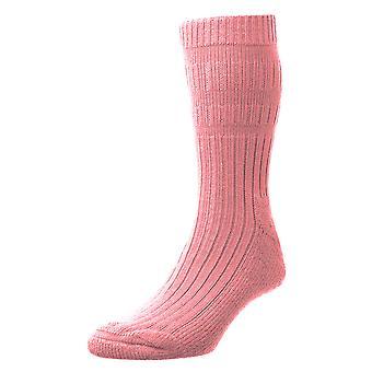 HJ Hall damer varm akryl Actifresh desinficeret seng sokker med glat tå søm