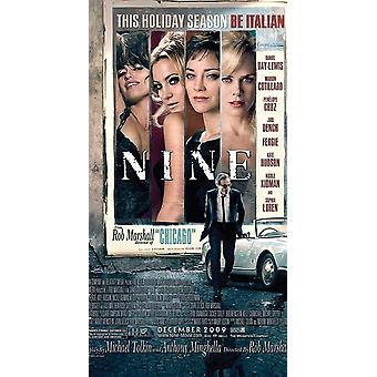 Nine Movie - Signed Movie Poster