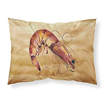 Carolines Treasures  8161PILLOWCASE Shrimp Moisture wicking Fabric standard pill