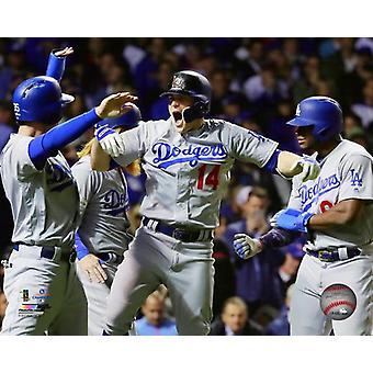 Enrique Hernandez Grand Slam gra 5 2017 National League Championship Series Photo Print