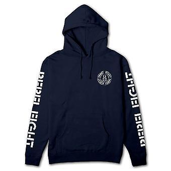 Rebel8 Blotch Pullover Hoodie Navy