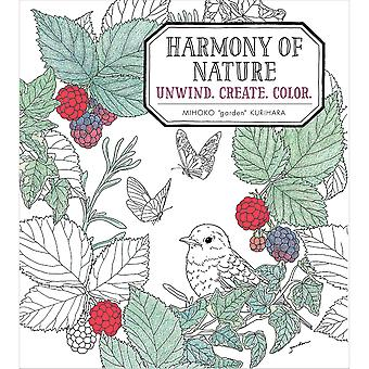 Sterling Publishing-Harmony Of Nature Coloring Book STP-20219