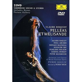 C. Debussy - Pelleas & Melisande-Comp Opera [DVD] USA import