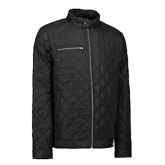 ID Mens Quilted Full Zip Jacket