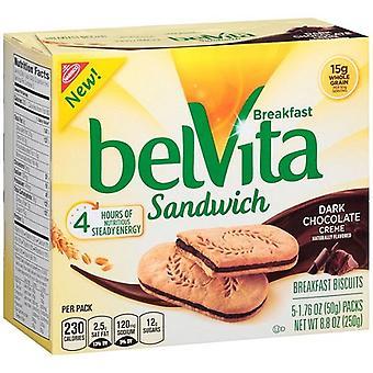 Belvita Breakfast Sandwich Dark Chocolate Creme