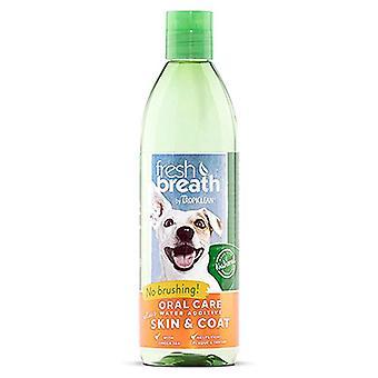 Tropiclean Fresh Breath Oral Care Water Additive Plus Skin & Coat