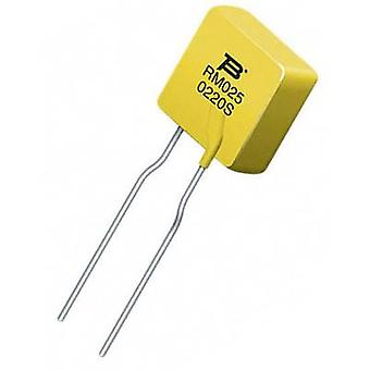 PTC fuse Current I(H) 0.25 A 240 V (L x W x H) 27.6 x 10 x 3.8 mm