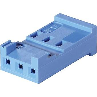 Socket enclosure - cable AMPMODU HE13/14 Total number of pins 8 TE Connectivity 281838-8 Contact spacing: 2.54 mm 1 pc(s