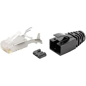 RJ45 connector CAT 6 Plug, straight Number of pins: 8P8C SS-39200-011