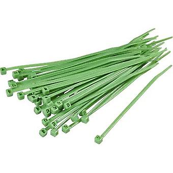 Cable tie 250 mm Green KSS 1369098