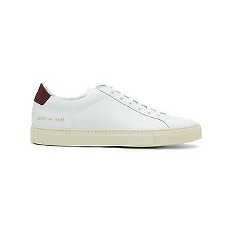Common projects men's 2129536 White leather of sneakers