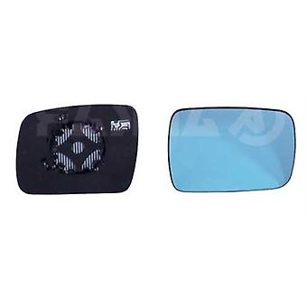 Right Blue Mirror Glass (heated) & Holder for RANGE ROVER SPORT 08/2009-2013