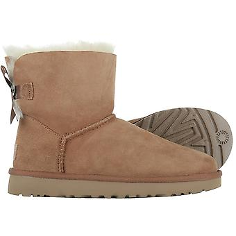 UGG Mini Bailey Bow II Chestnut 1016501CHE universal winter women shoes