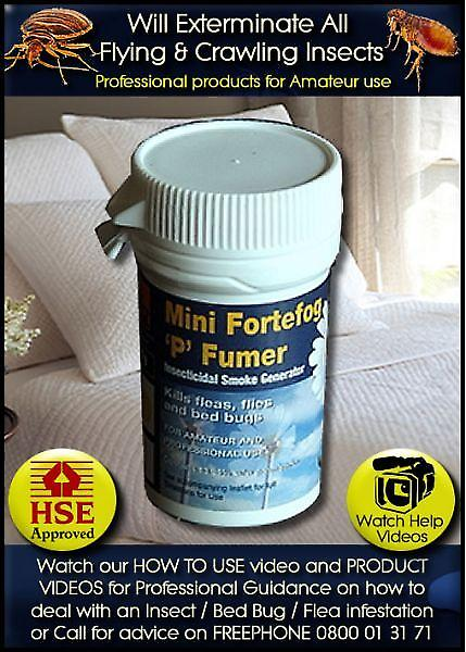 Fortefog Insect Killer Mini Fumers | 6 X 3.5g Pack
