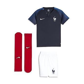 2018-2019 France Home Nike Mini Kit