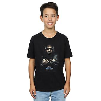 Marvel Boys Black Panther M'Baku Poster T-Shirt
