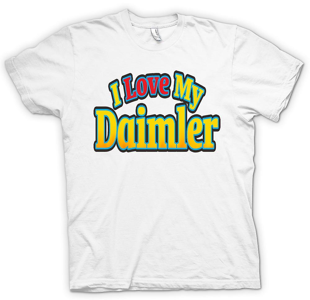 Womens T-shirt - I Love My Daimler - Car Enthusiast