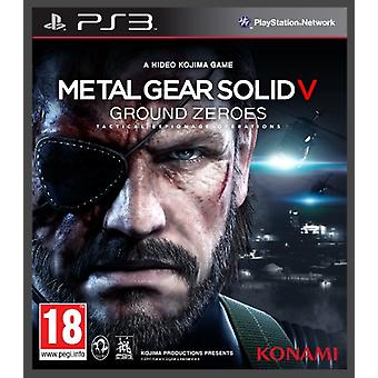 Metal Gear Solid V Ground Zeroes (PS3)