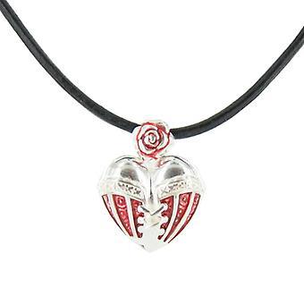 Heartbreaker by Dragon rock ladies silver pendant chain LD HT 33 RM