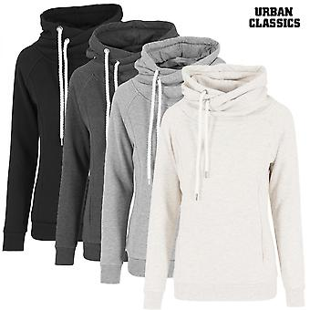 Urban classics ladies Hoodie Raglan high neck