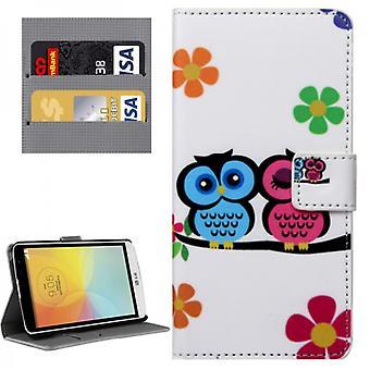 Pocket plånbok premium modell 33 för LG Bello 2 II