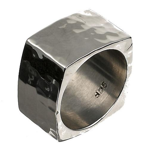 Solid Silver Ring place