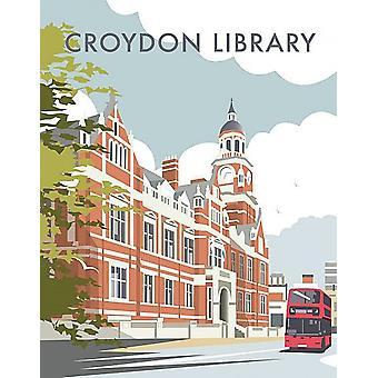 Croydon Library Fridge Magnet