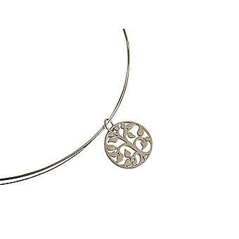Gemshine - Damen - Halskette - Anhänger - LEBENSBAUM - 925 Silber - 45 cm