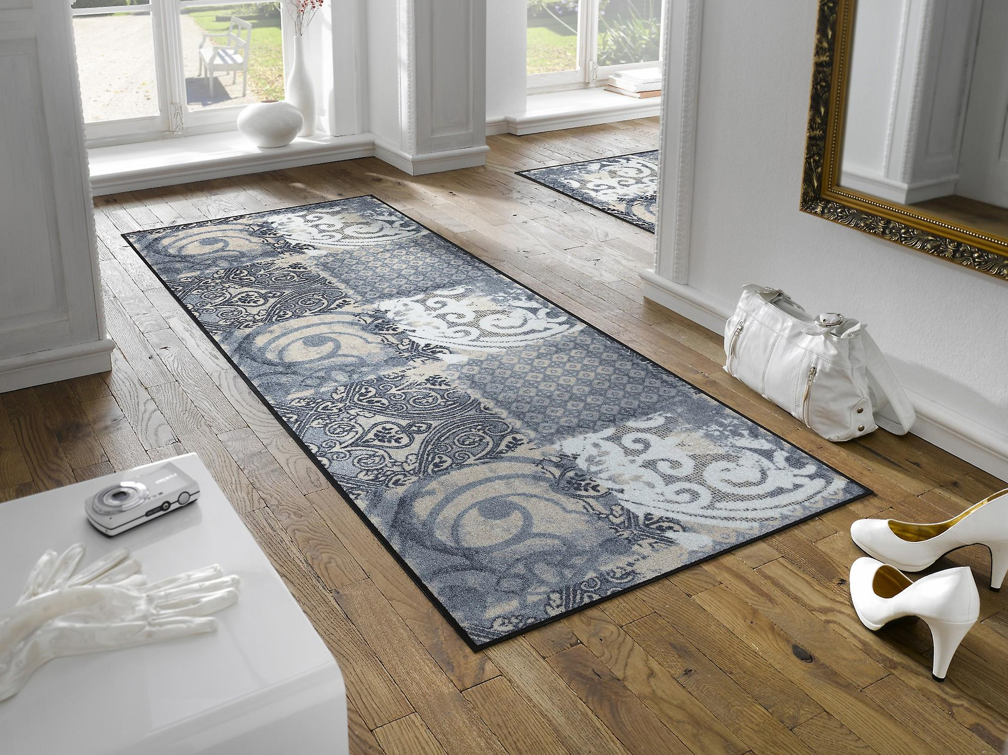 wash dry fu matte arabesque waschbare fu matte fruugo. Black Bedroom Furniture Sets. Home Design Ideas