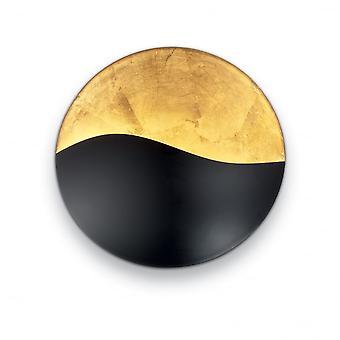 Ideal Lux Sunrise Ap4 Black E Gold