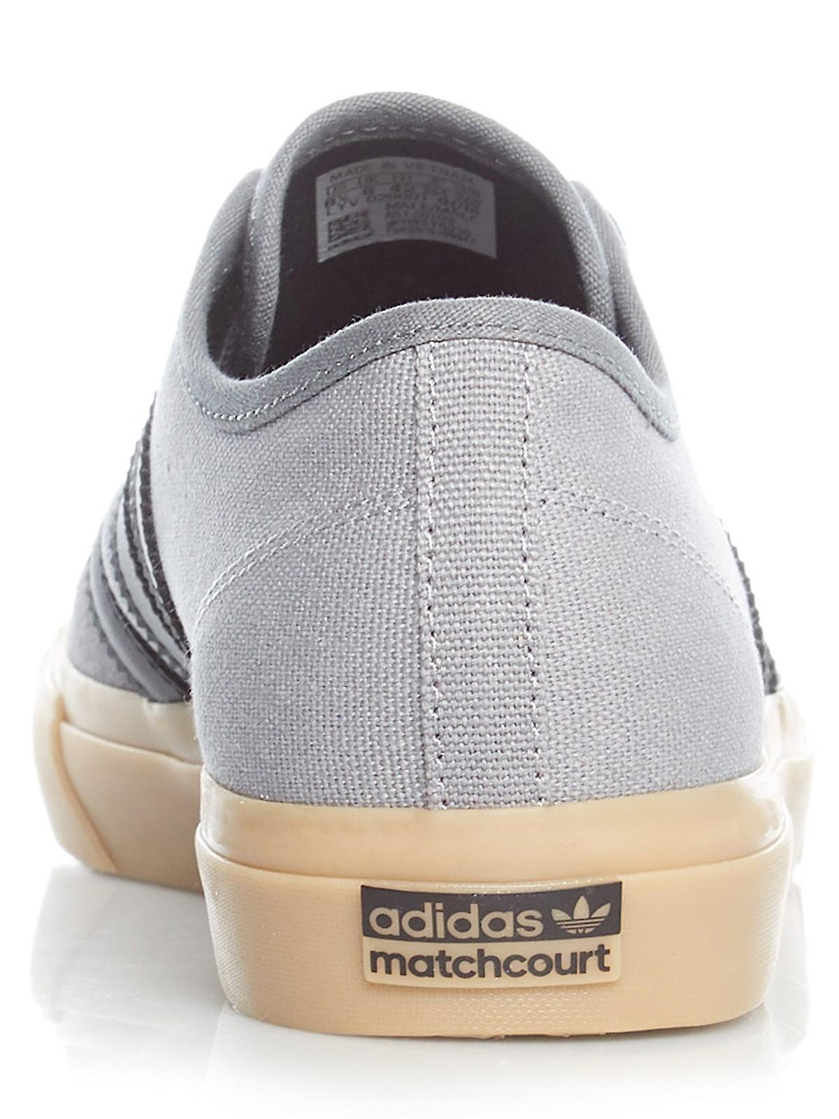 Adidas Grey Four-Core Black-Gum4 Matchcourt RX Shoe