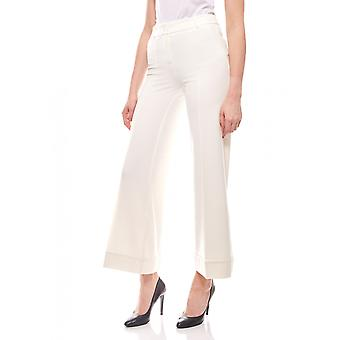 Marlene pants short size Pintuck white vivance collection